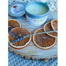 Bougie de massage (Orange et lavande)