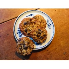 Biscuits avoine-canneberges