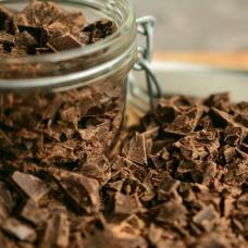 Capuchons de chocolat bio mi-sucrés